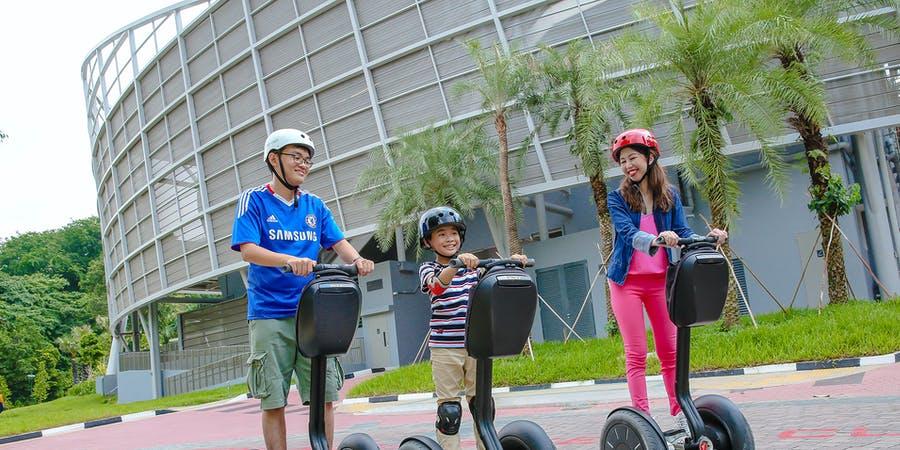Singapore in April - Segway Ride