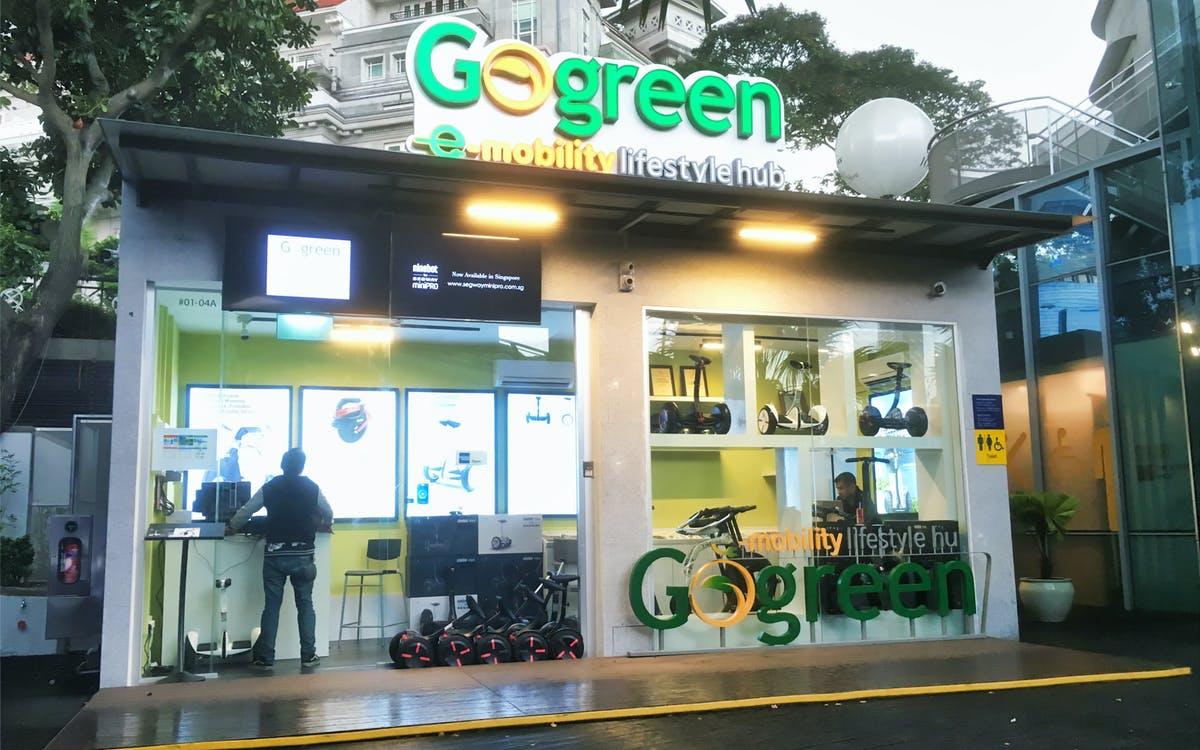 go green bi-pedal bicycle rental in sentosa-1
