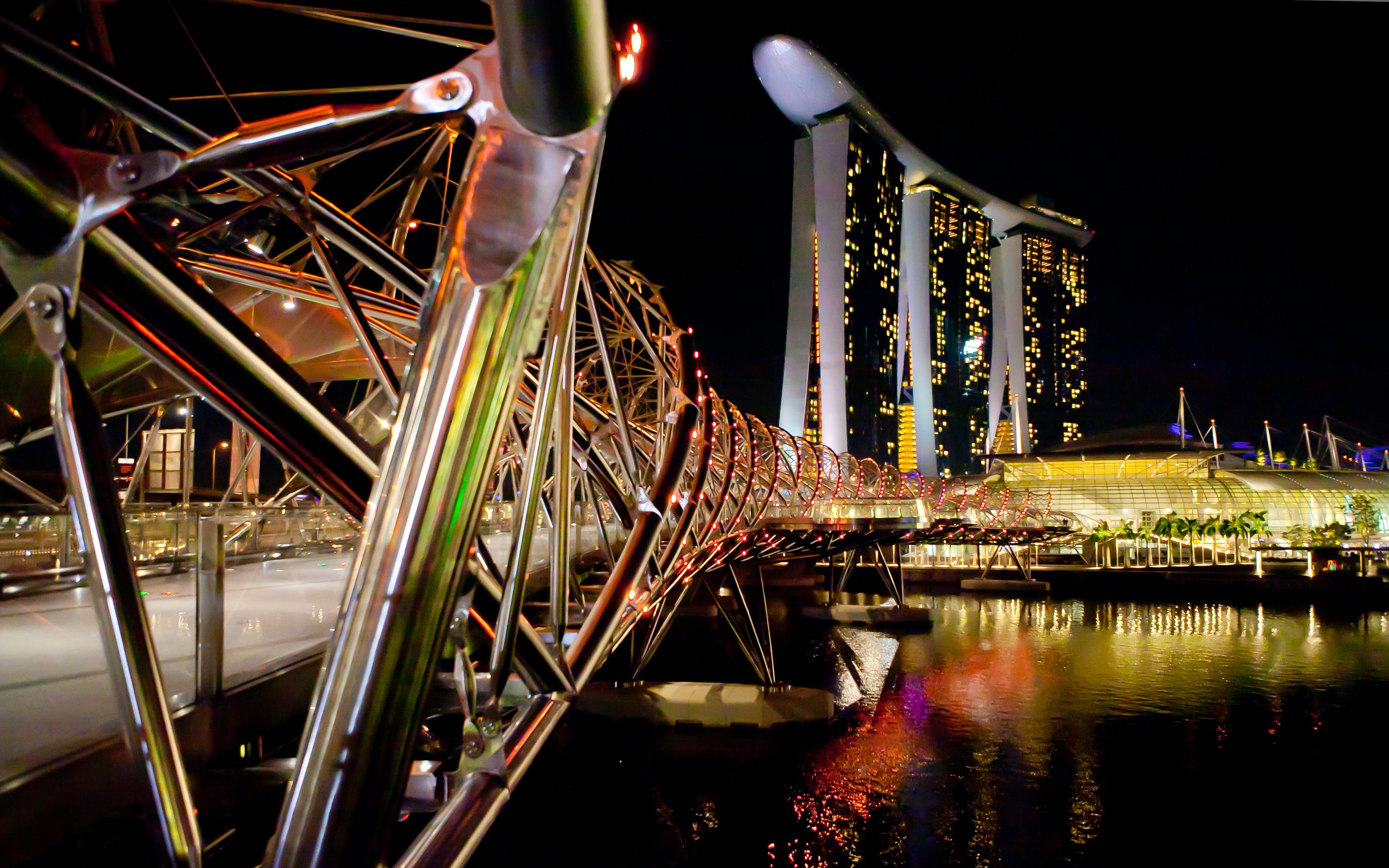 singapore hop on hop off - funvee night tour