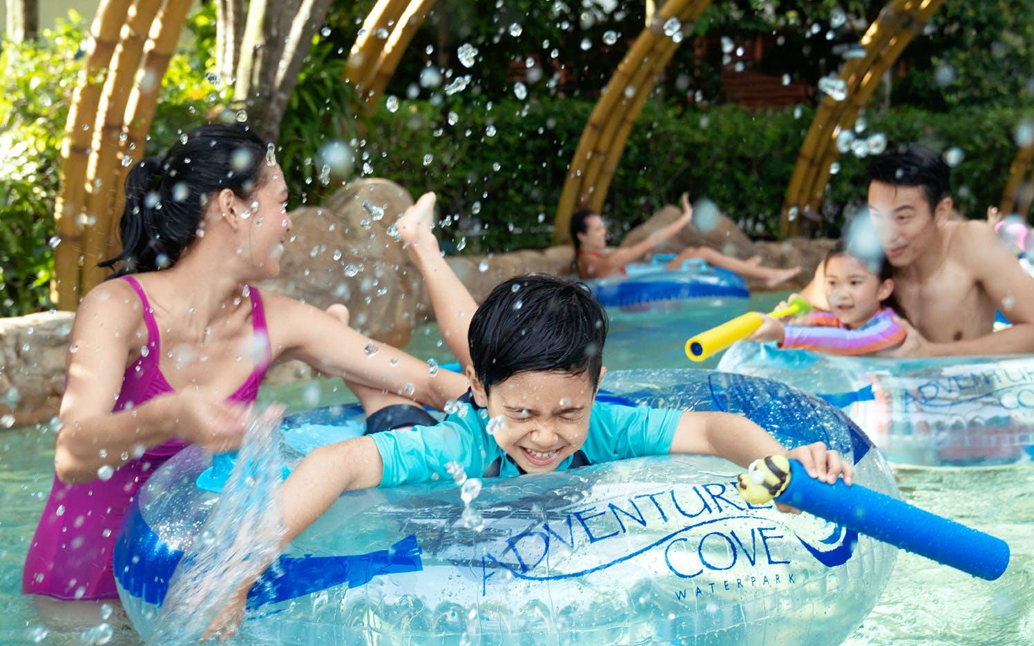 Make A Splash In Sentosa At Adventure Cove Waterpark Singapore