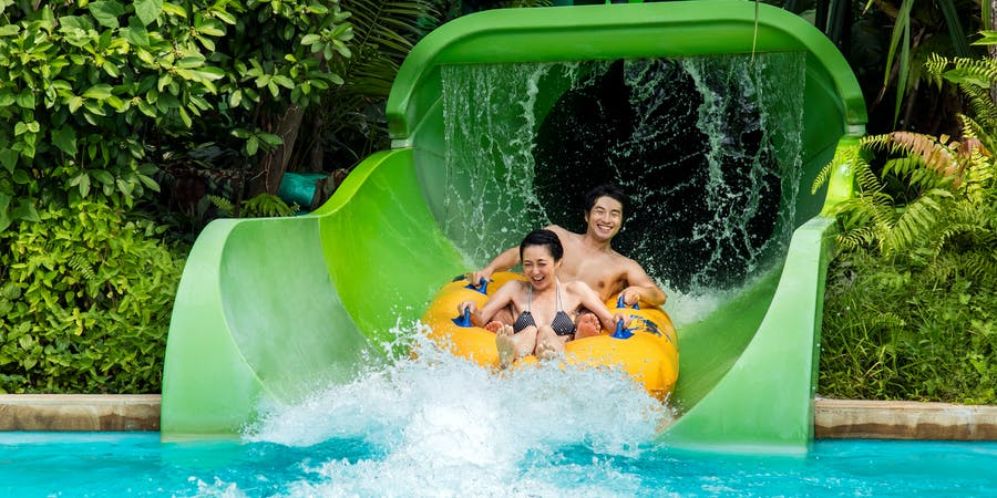 Singapore in August - Adventure Cove Waterpark