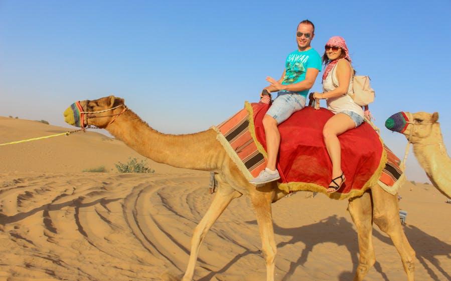 morning desert safari-0