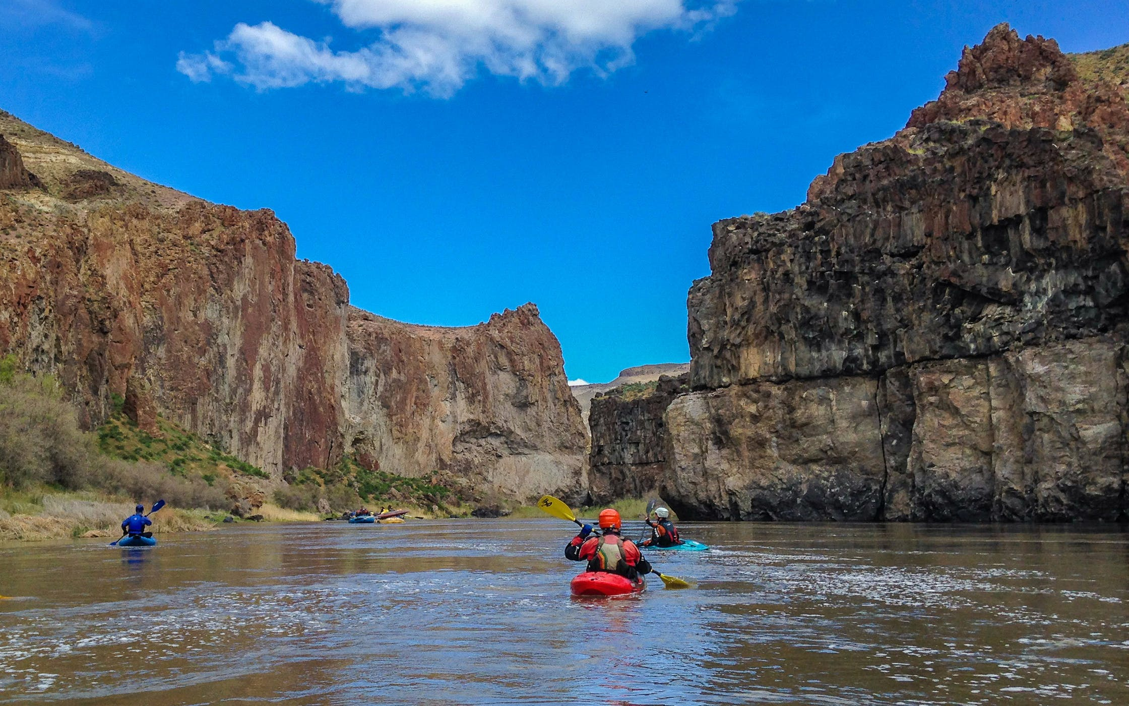 guided full day black canyon kayaking tour-1