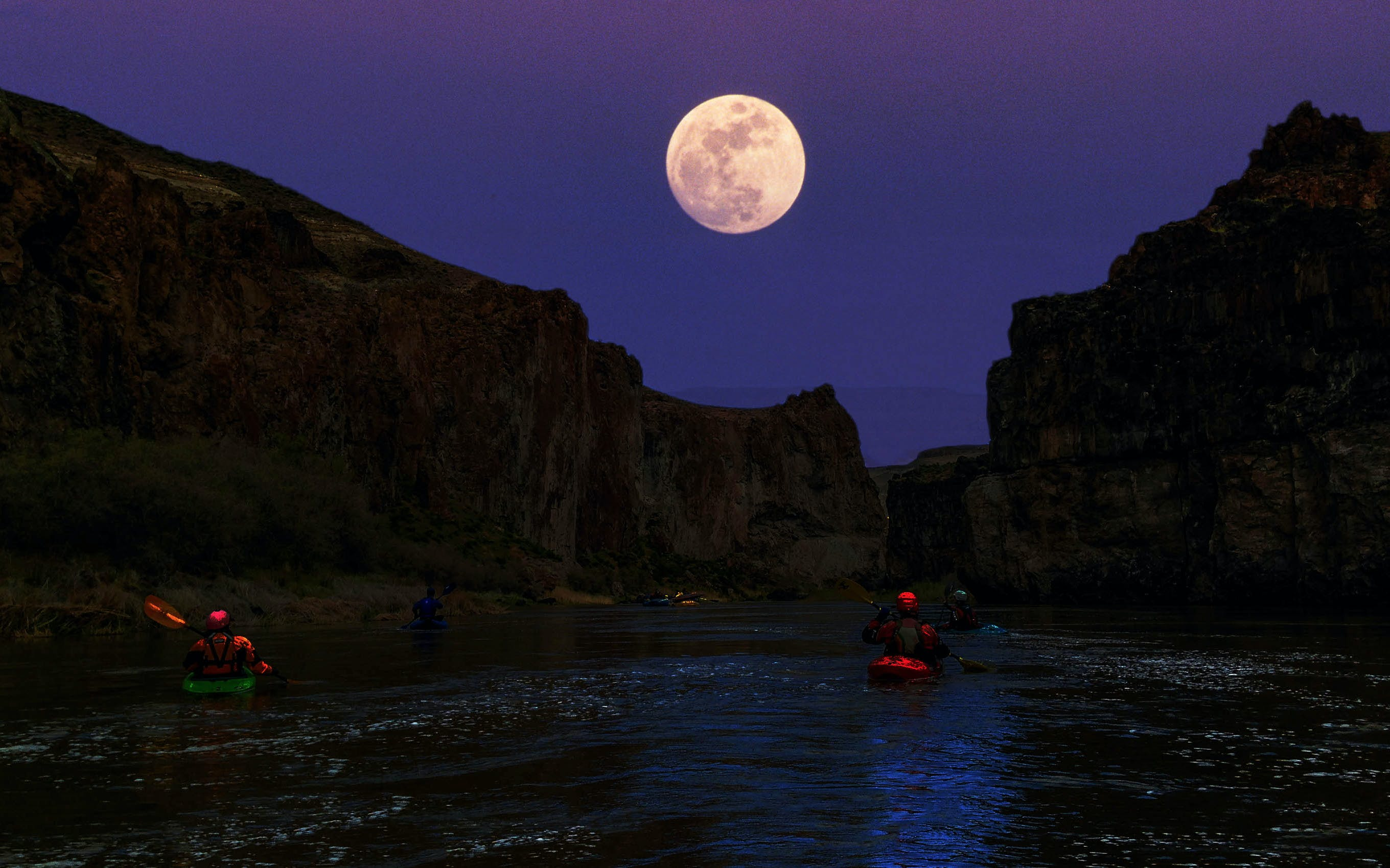 full moon twilight paddle-1