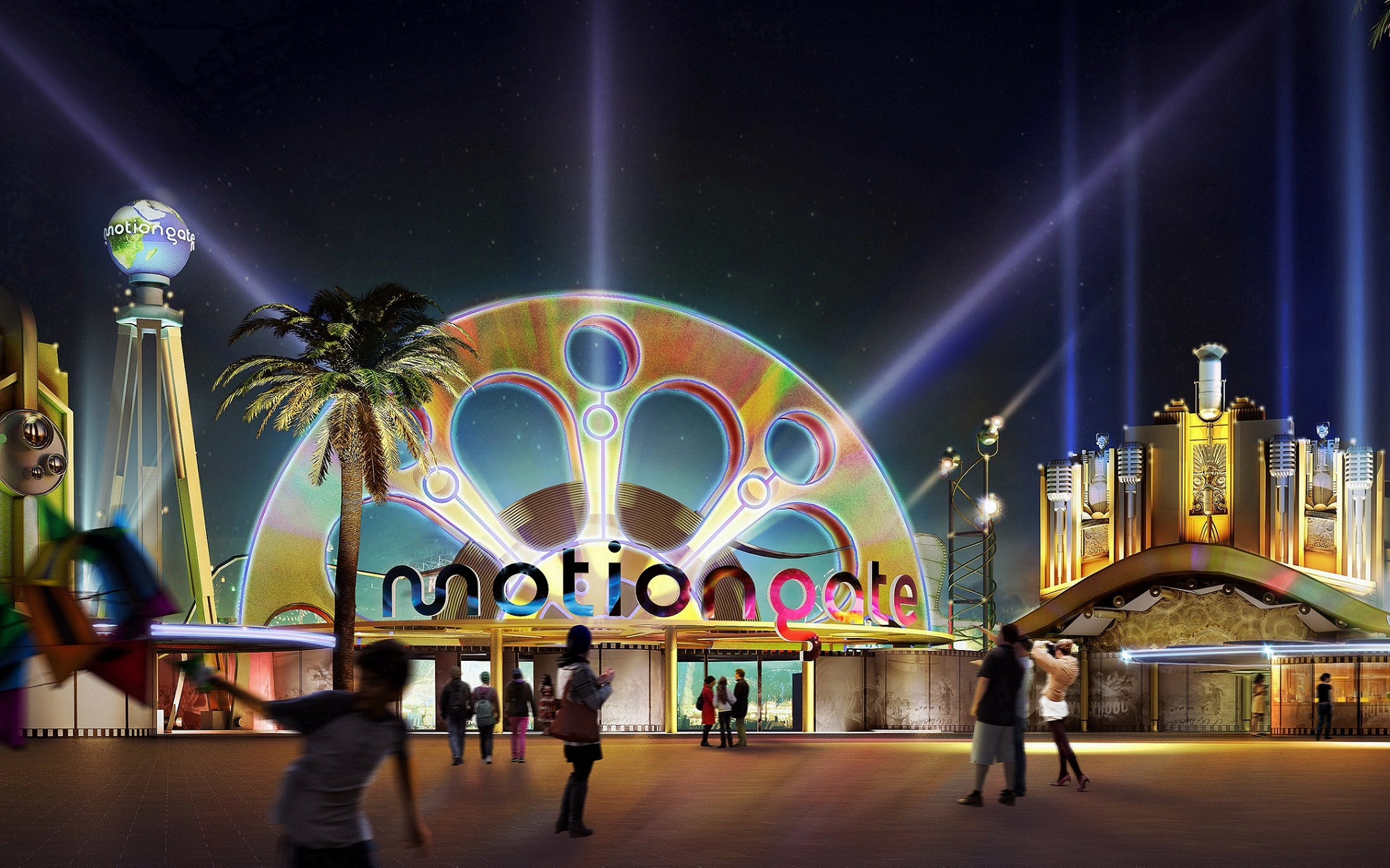 Motiongate Dubai: Entry Ticket with Unlimited Food & Beverages
