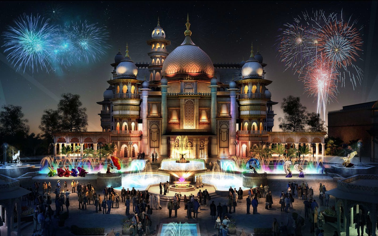 Bollywood Parks Dubai: Entry Ticket with Unlimited Food & Beverages