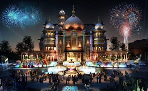 Bollywood Parks Dubai with Transfers
