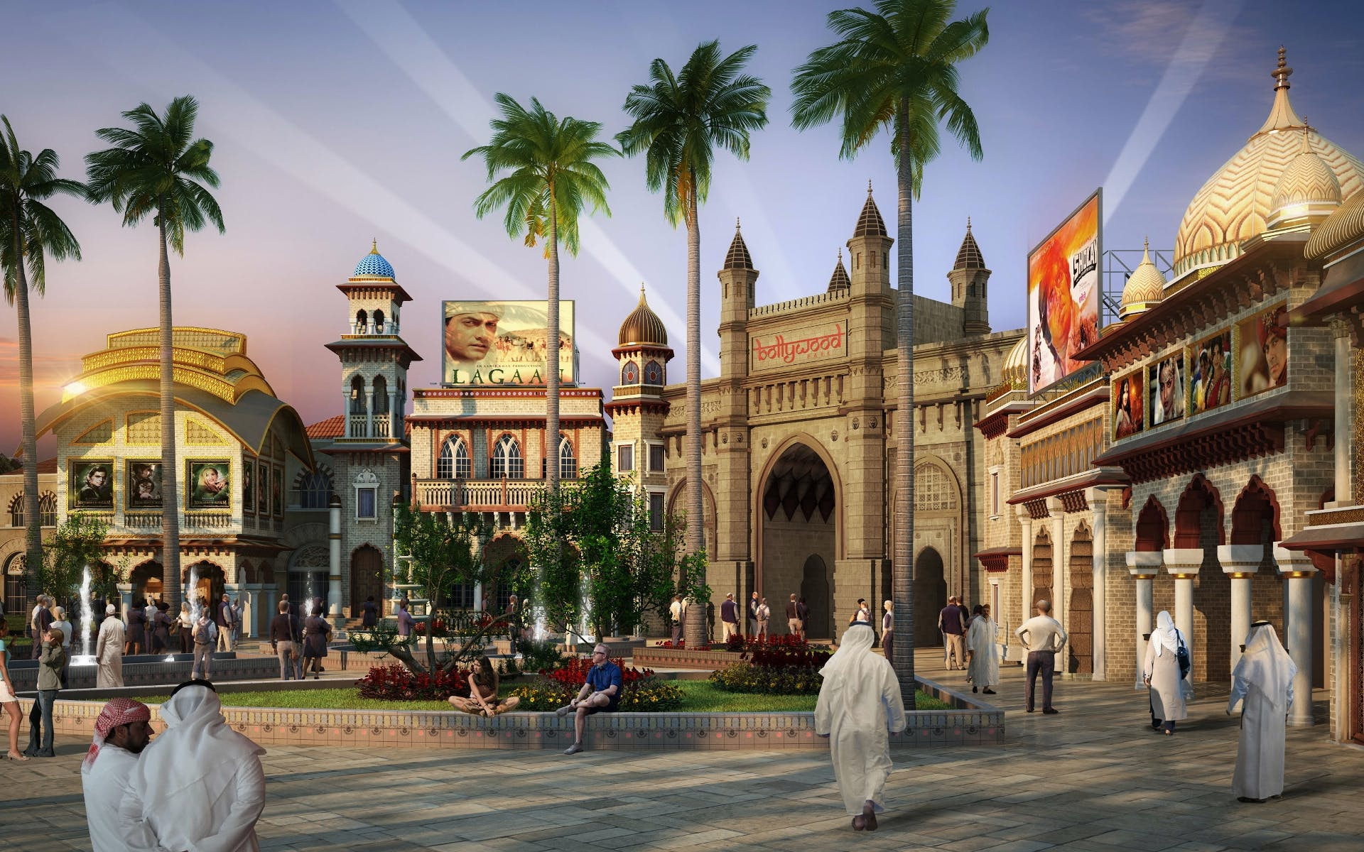 bollywood parks dubai with transfers-2