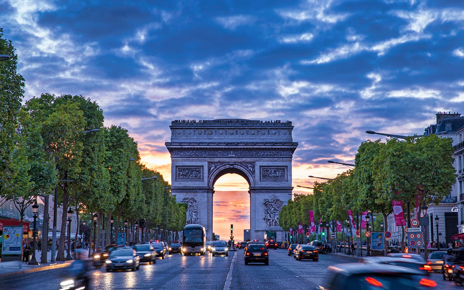 paris in november - Arc de Triomphe
