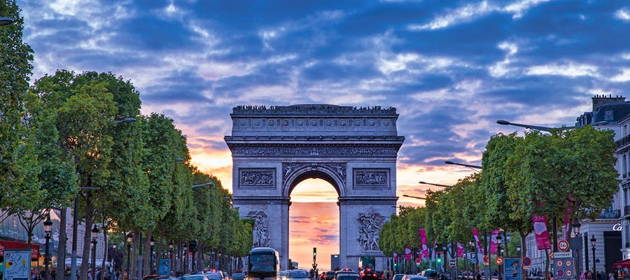 paris in november - Arc de Triomphe