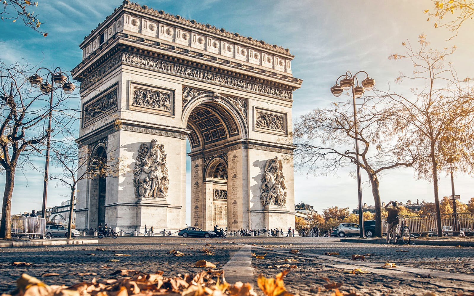 skip the line: arc de triomphe rooftop tickets-6