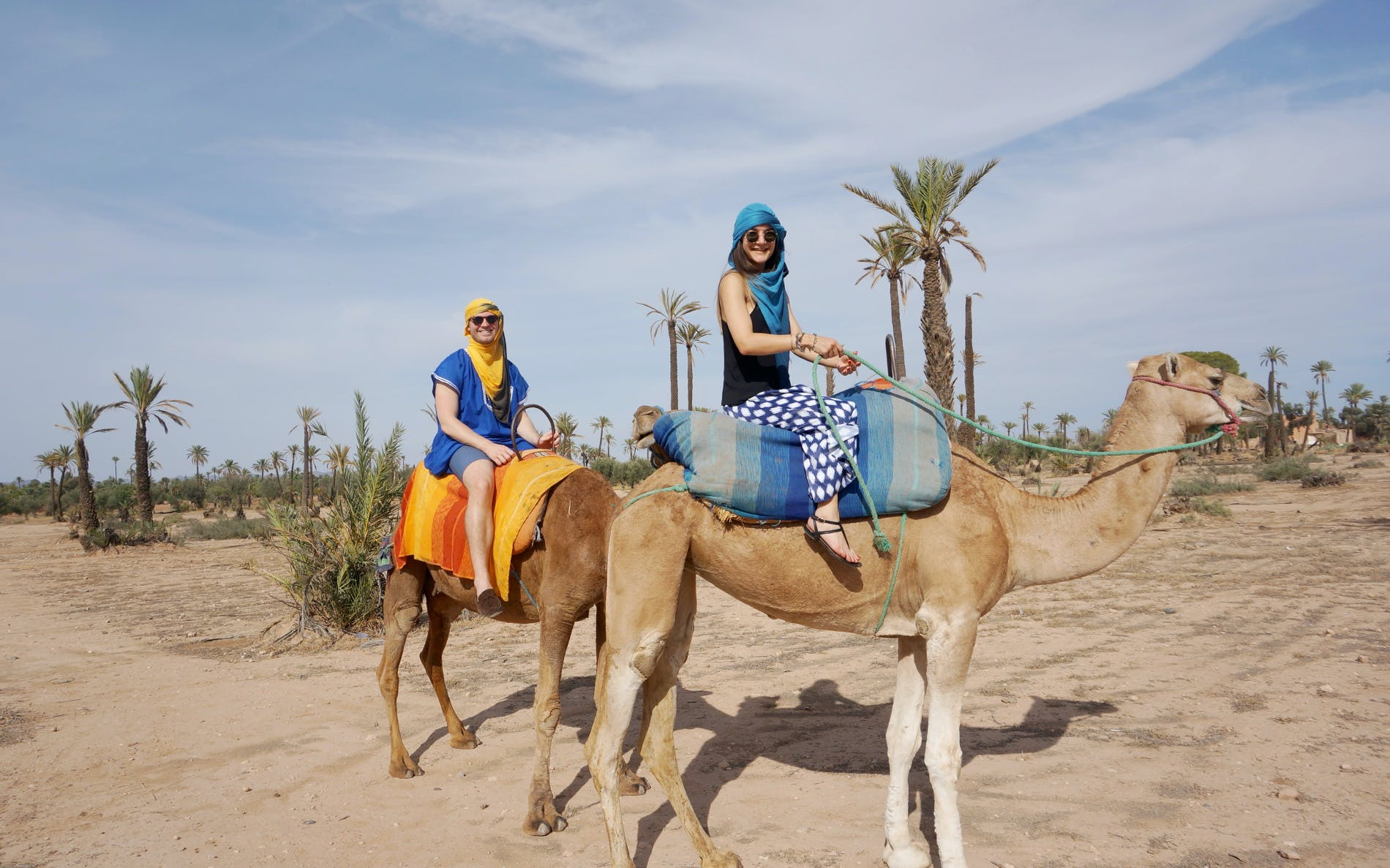 camel trekking with private transfers-3