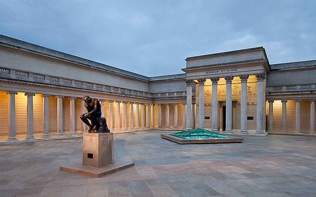 legion of honor admission tickets -1
