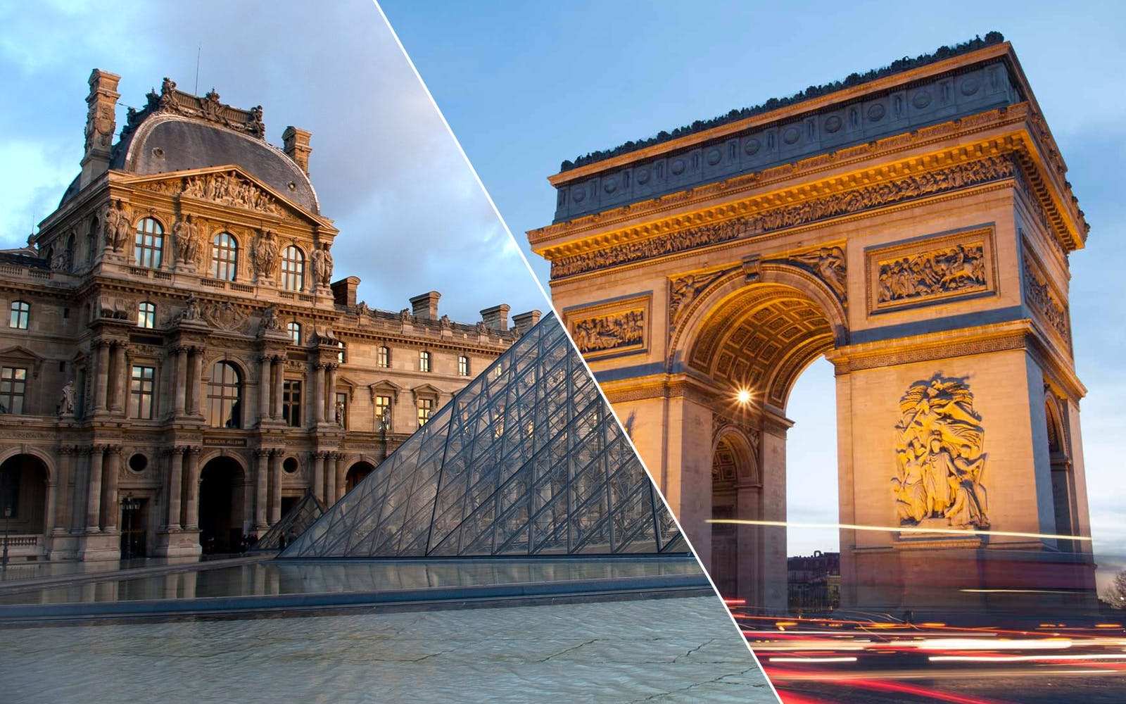 Louvre Museum Dedicated Entrance + Skip the Line Arc de Triomphe Tickets
