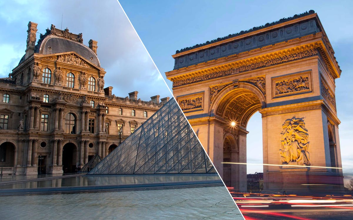 louvre museum dedicated entrance + skip the line arc de triomphe tickets-1