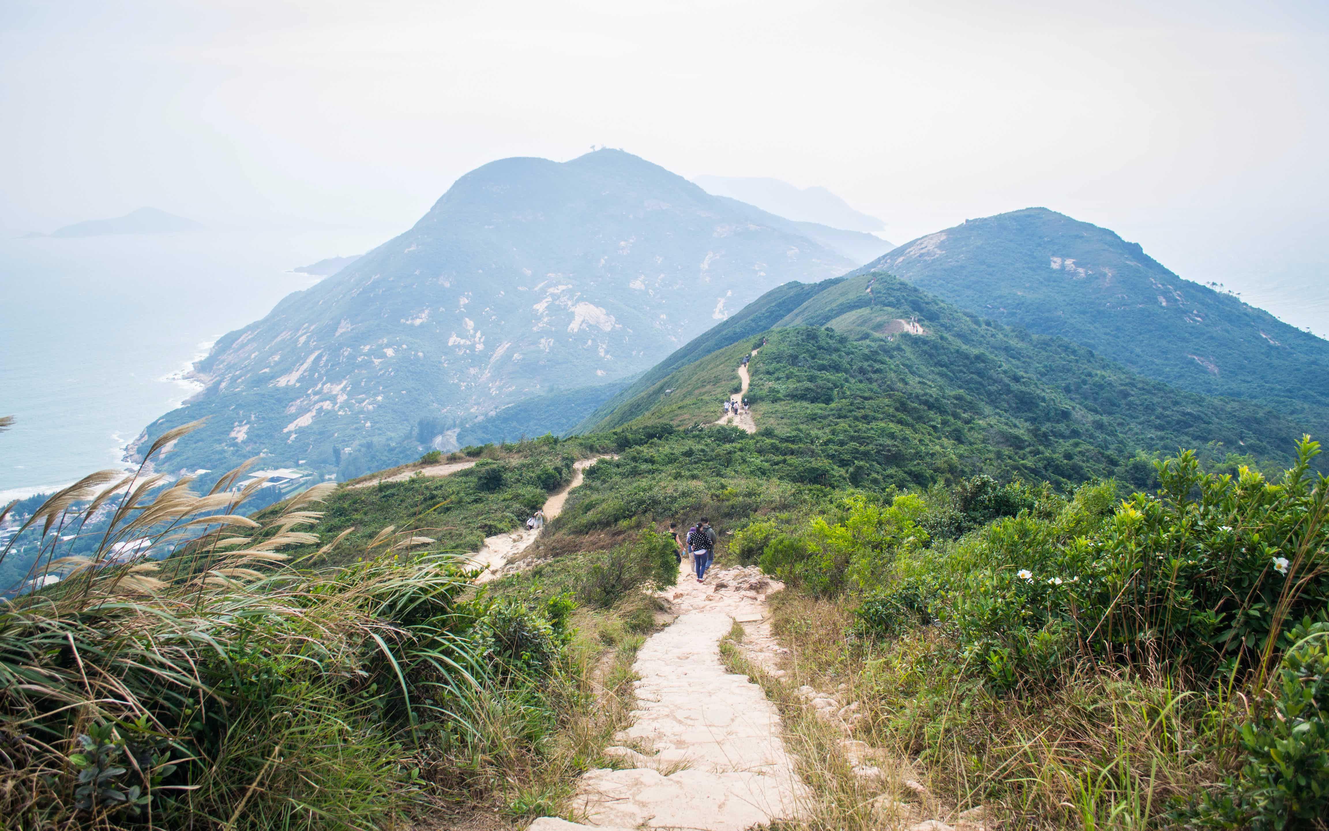date in hong kong hiking