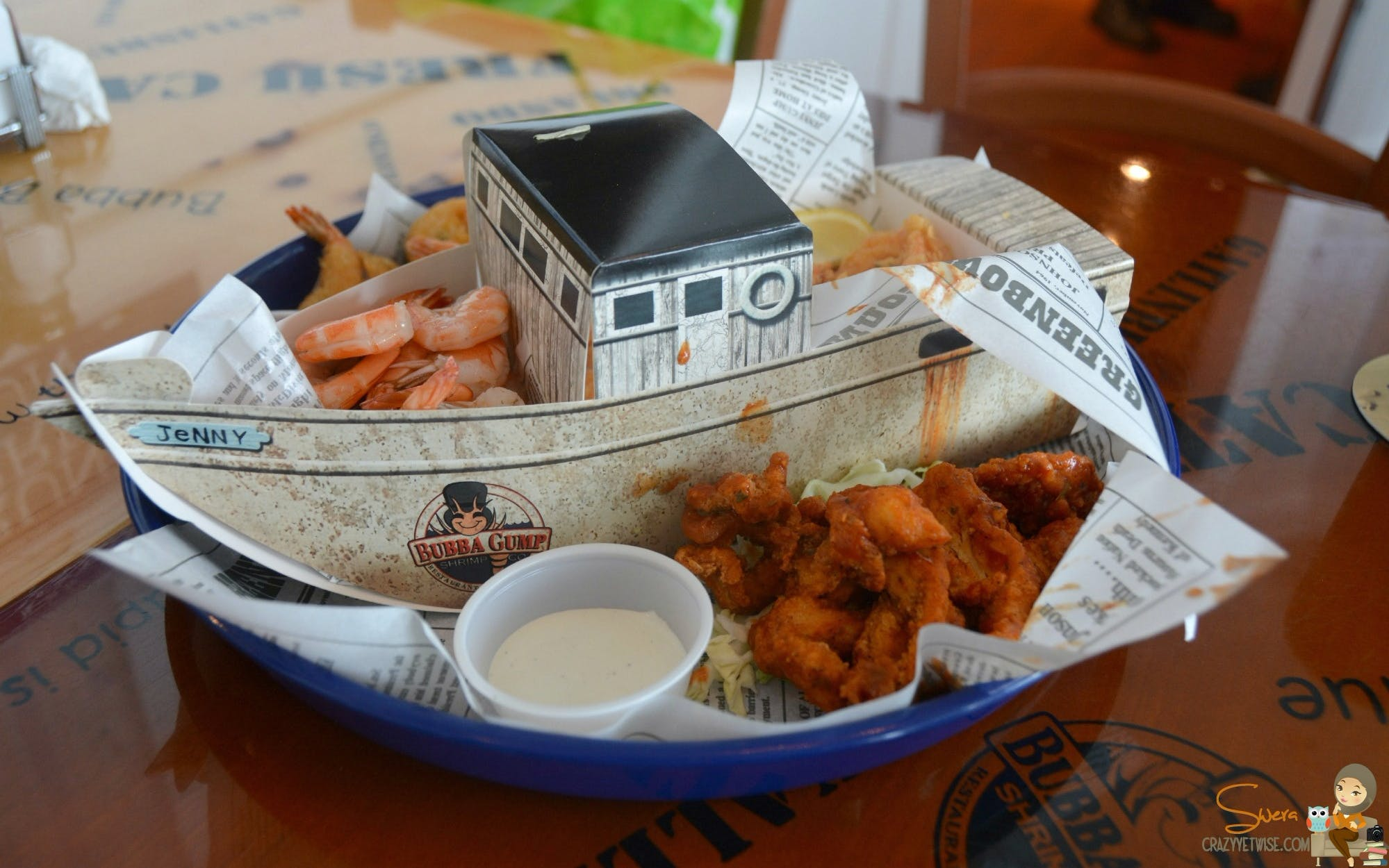 dining at the peak: bubba gump-4