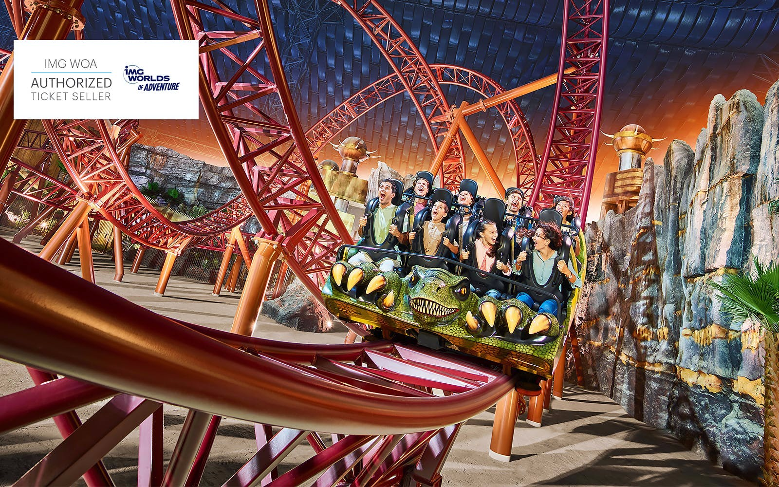 Best Theme Parks in Dubai - IMG Worlds of Adventure - 3