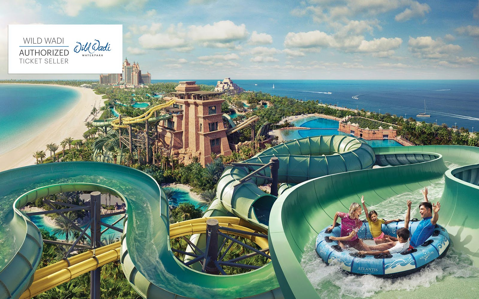 Wild Wadi Waterpark with Transfers