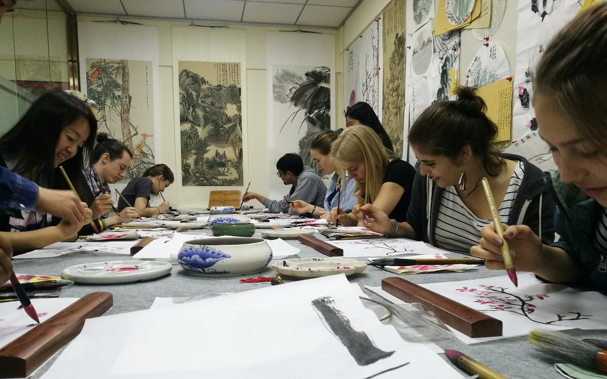 chinese painting class-2