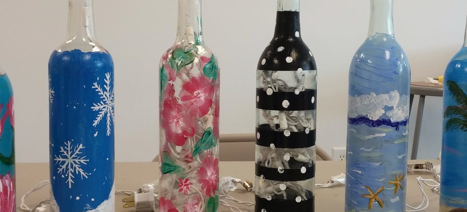 Bottle Painting Workshop