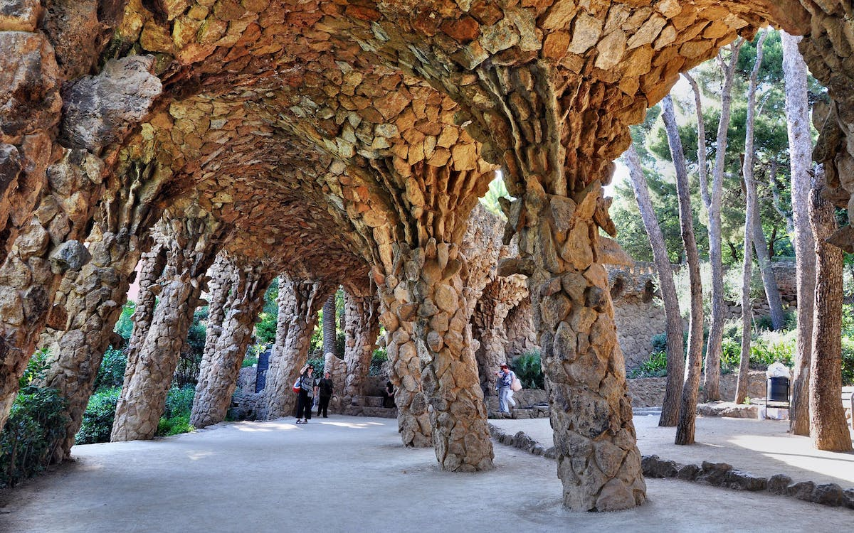 park guell timed entry ticket-2