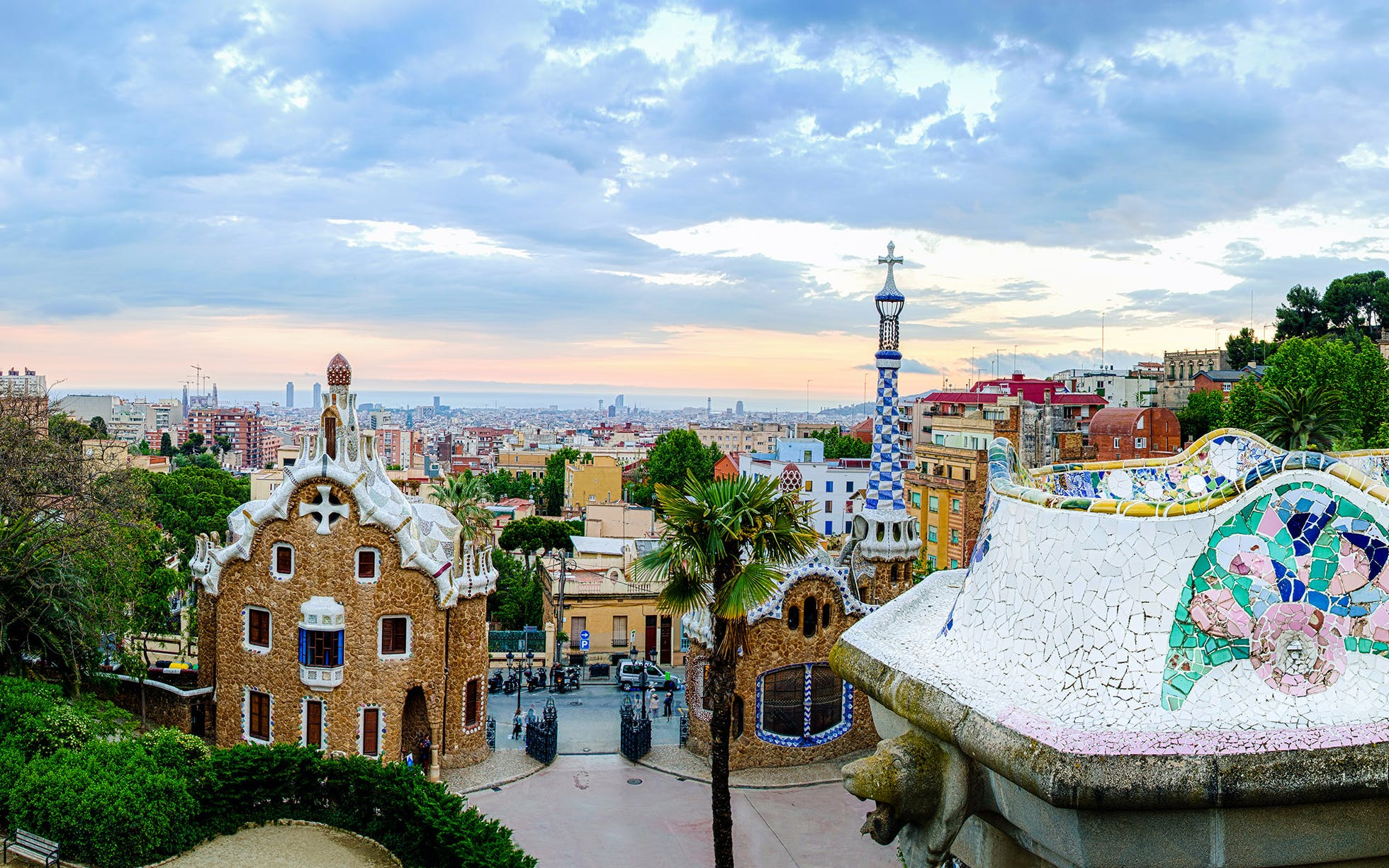 Visit Barcelona - Park Guell