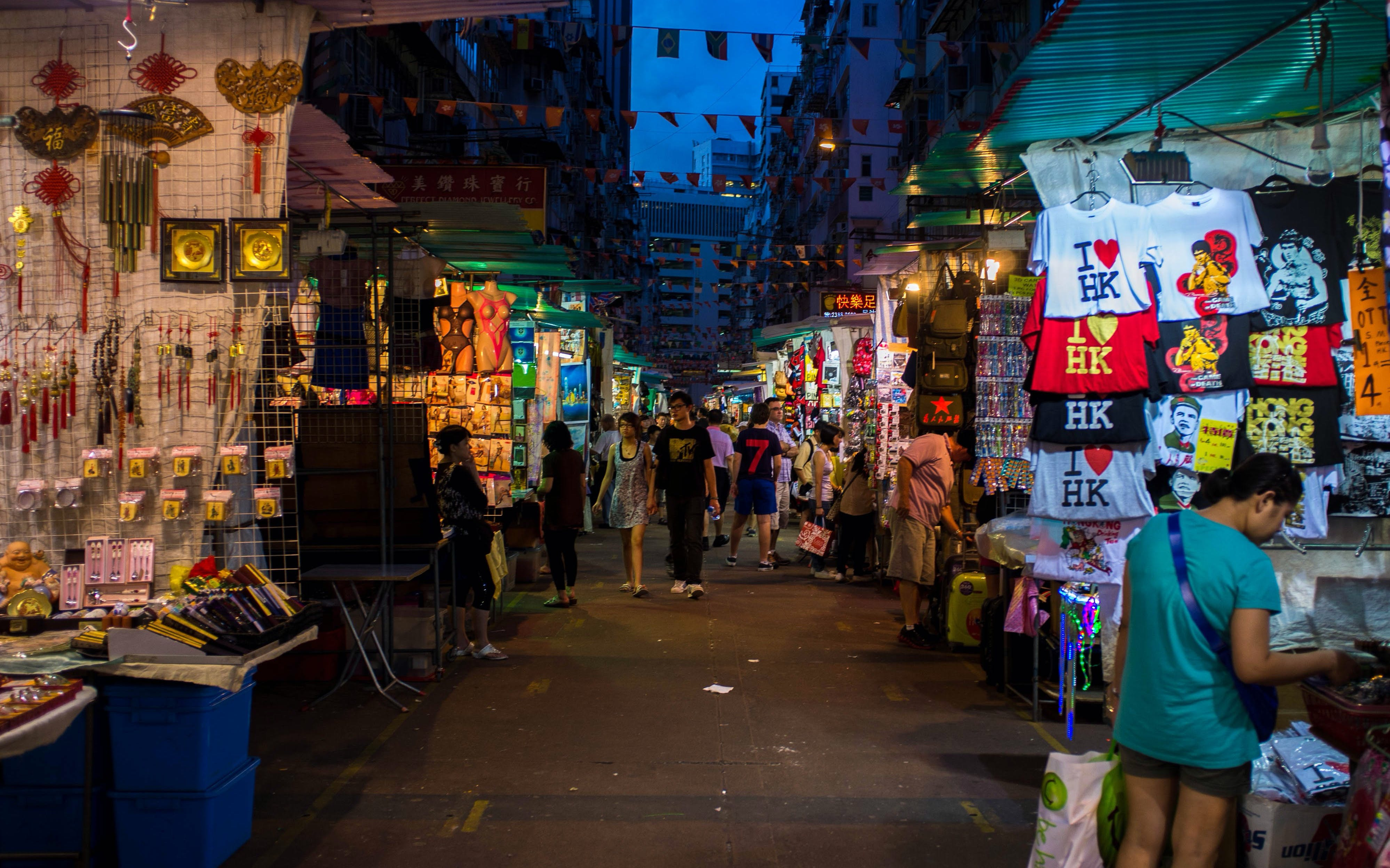 hong kong markets - walking tour-2