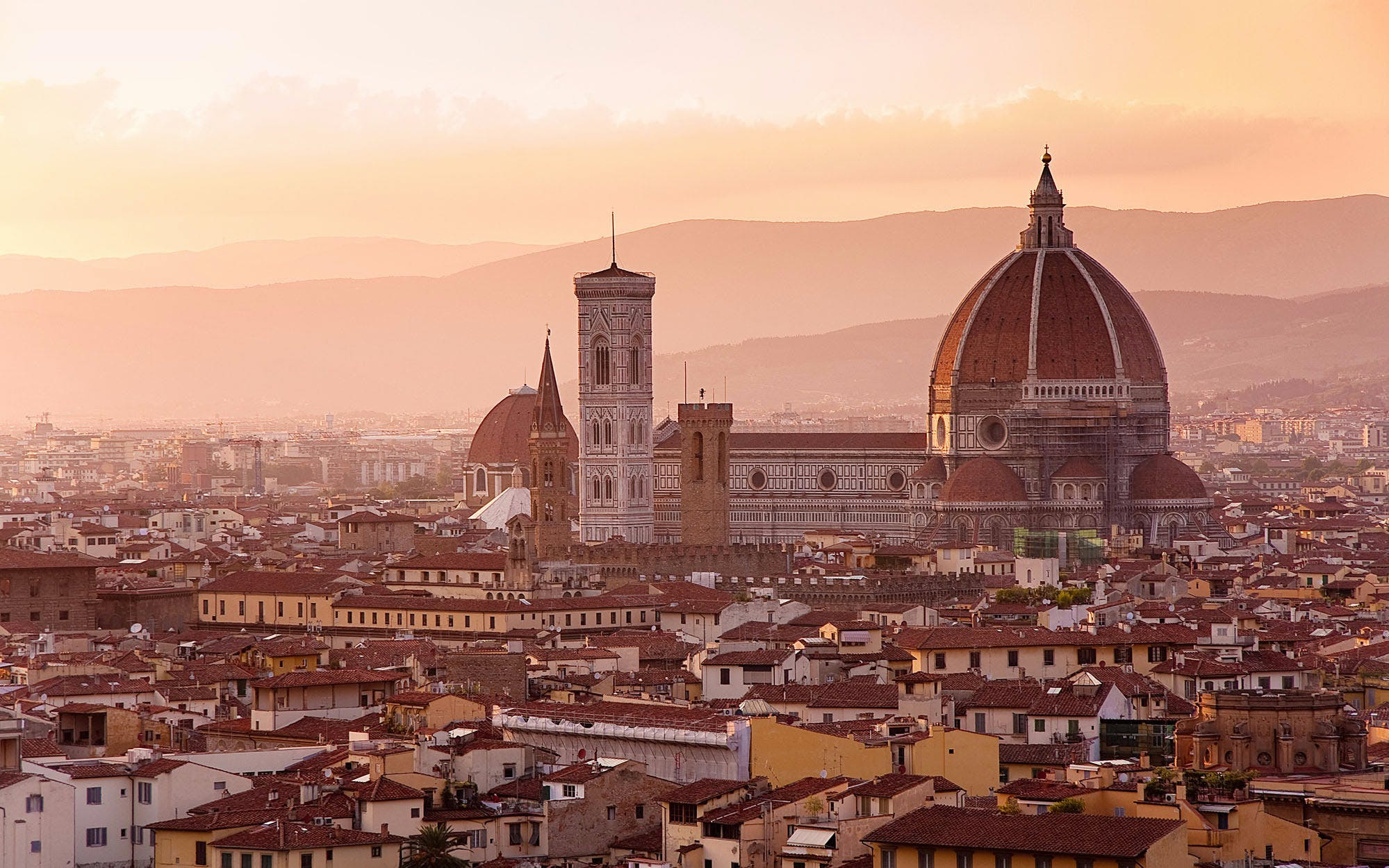 morning guided florence city tour & priority access to accademia gallery -1