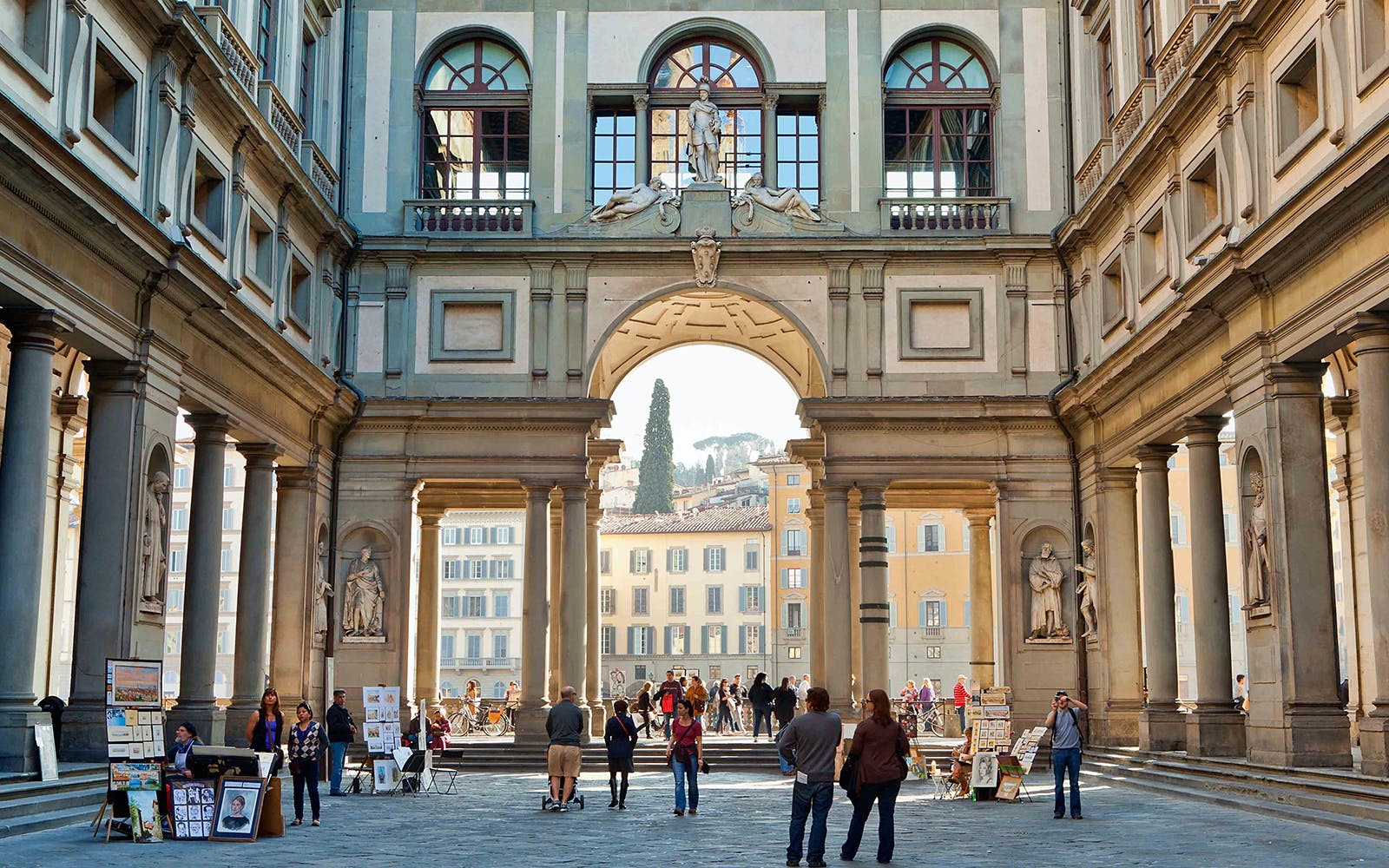 skip the line - uffizi and accademia galleries with audio guide-3