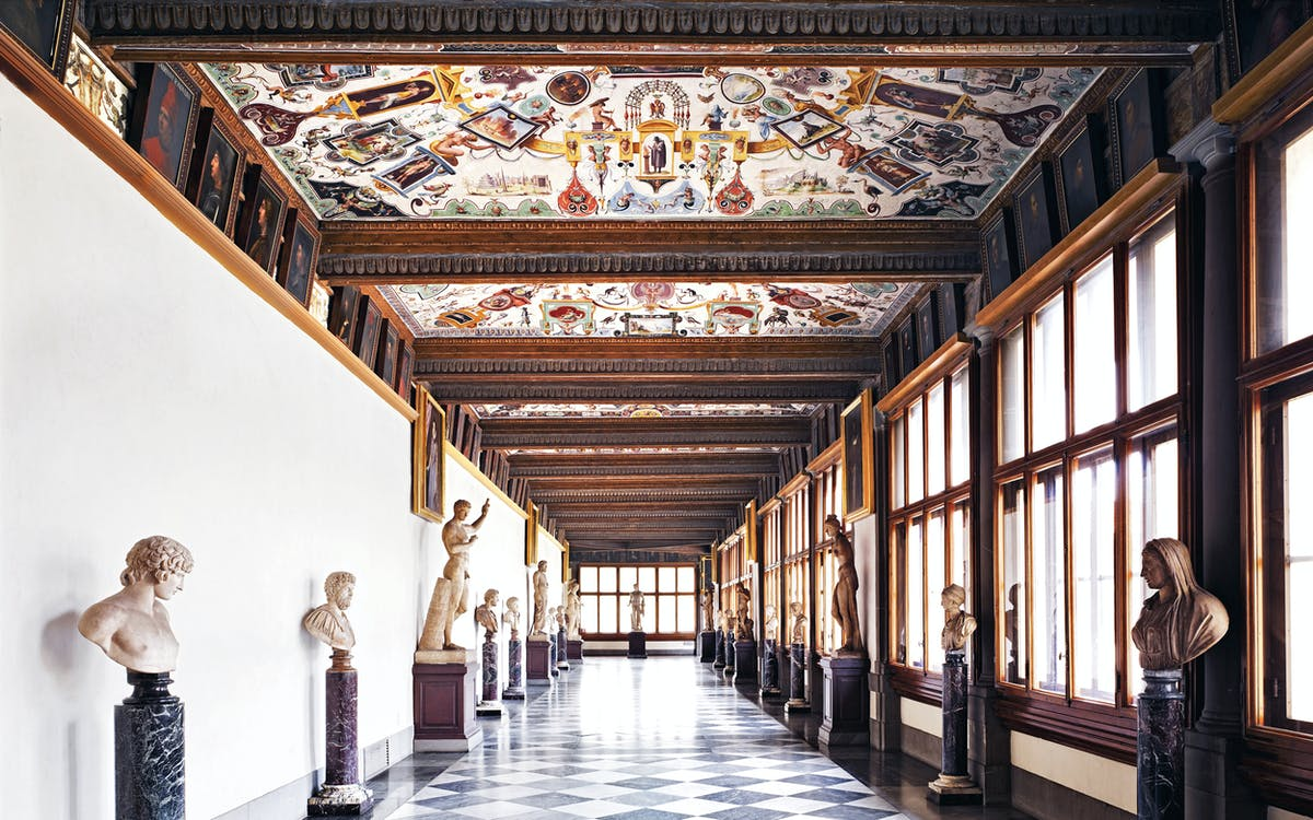 skip the line to uffizi & accademia galleries + florence city tour-1