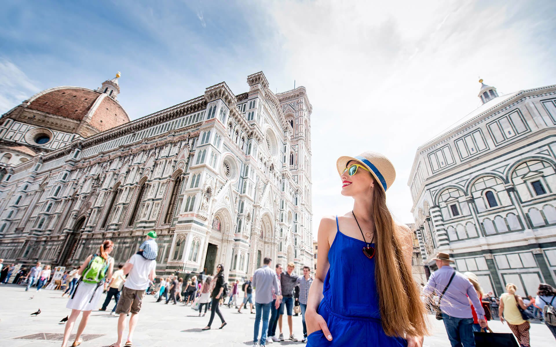 Florence City + Accademia Guided Tour