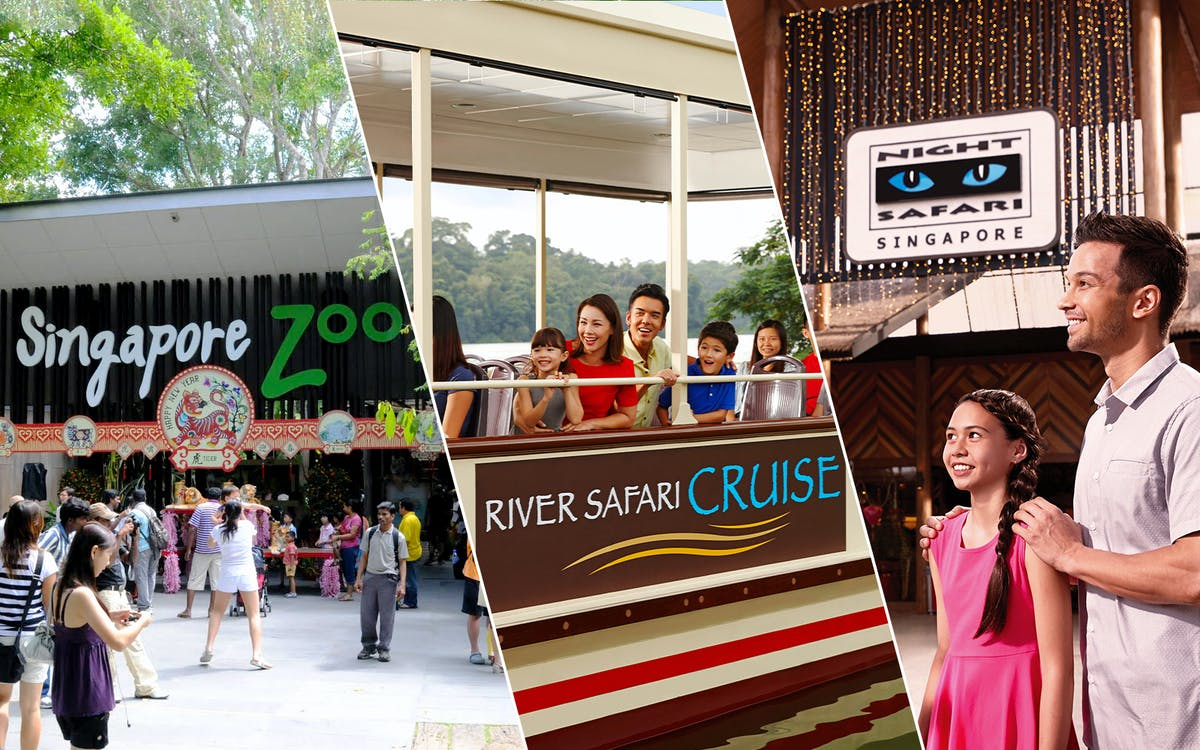 super saver combo: singapore zoo + river safari + night safari-1