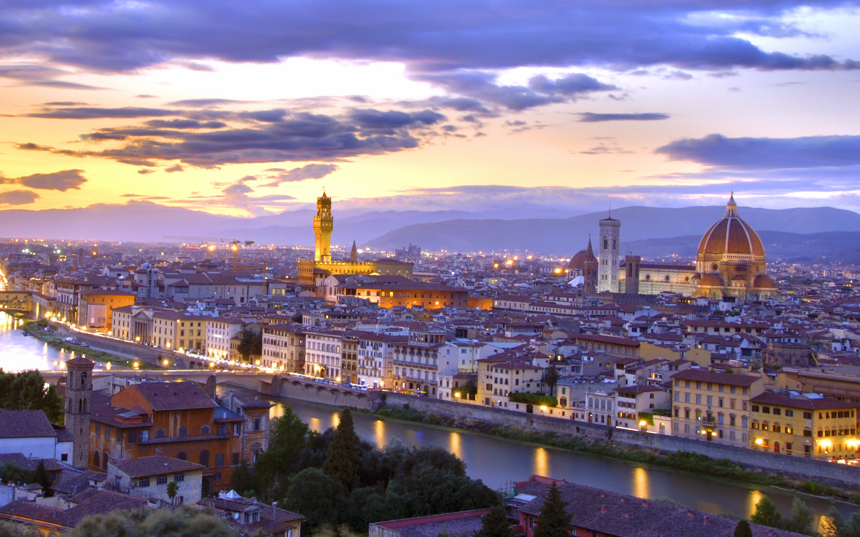 Exclusive Guided Evening Florence City Walk