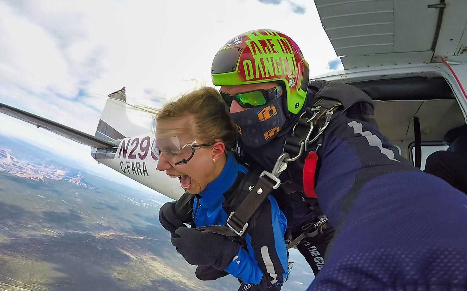 Skydiving at the Grand Canyon