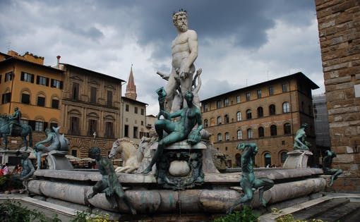 Walking Tour of Florence with Priority Access to Uffizi Gallery