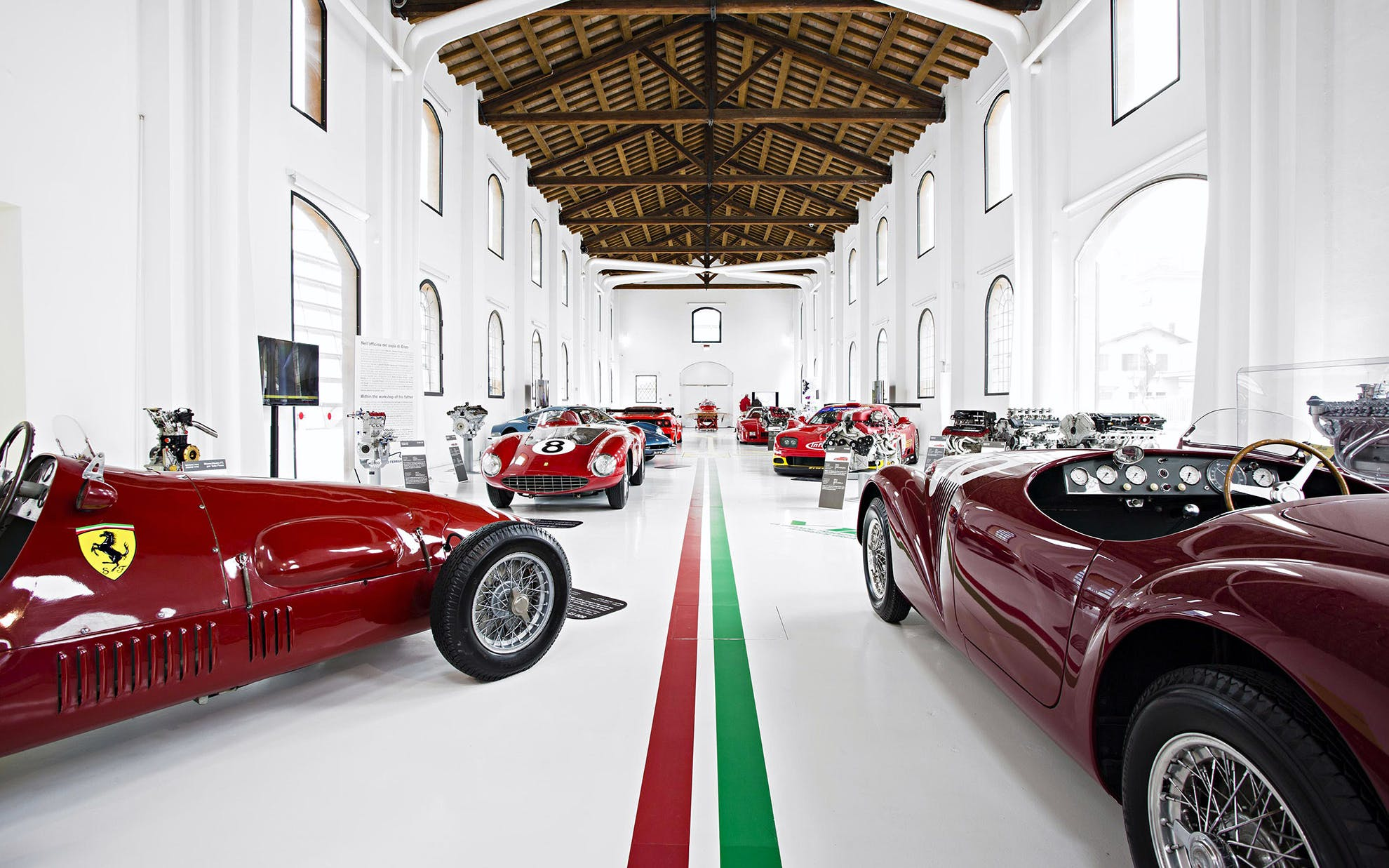 The Red Legend-Ferrari Museum Tour with Lunch