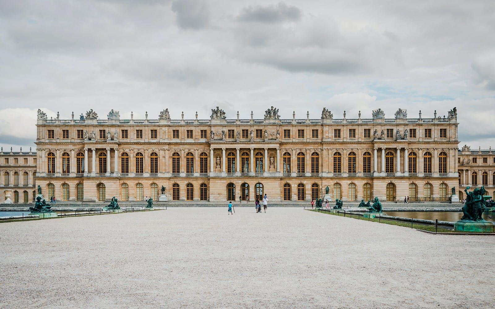paris in november - palace of versailles