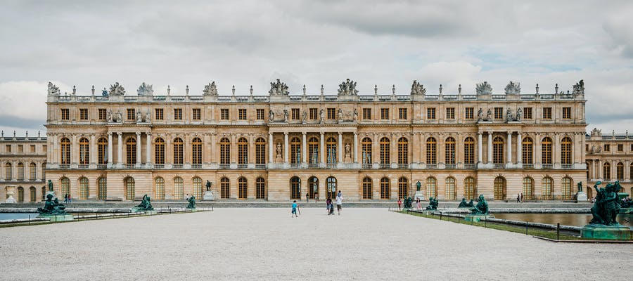 paris in november - palace of versailles