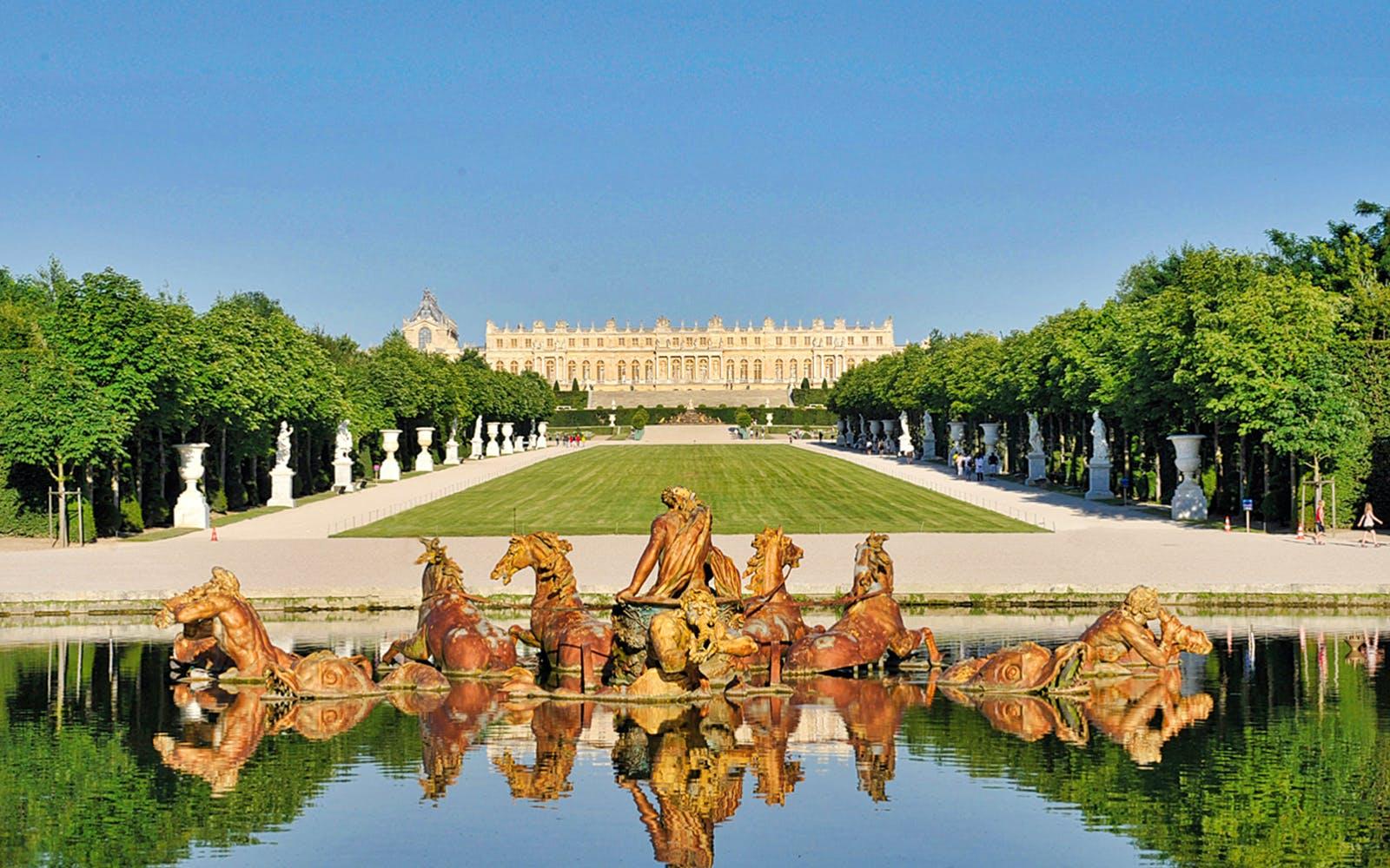 paris tour - palace of versailles