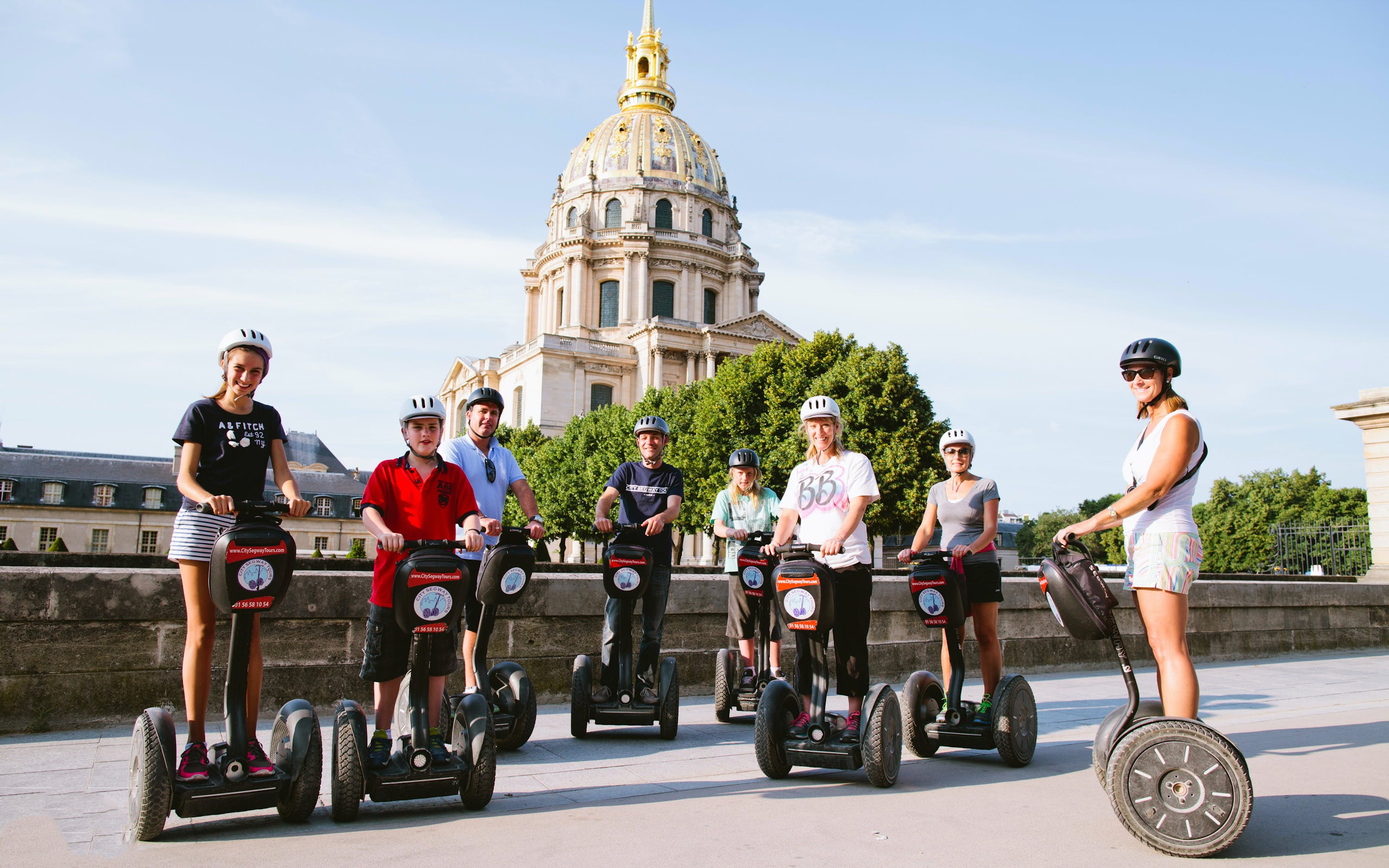 Versailles Segway Tour at Castle Park