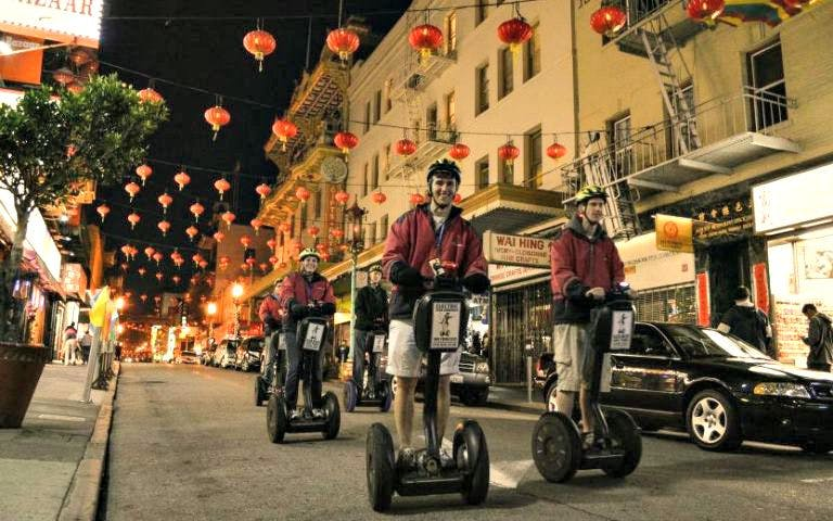 Segway Night Tour of Chinatown, Little Italy, Wharf & Waterfront