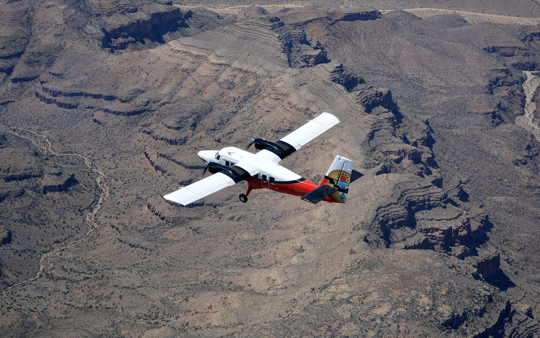 North Rim Airplane Tour with Ground Exploration and Optional ATV Ride