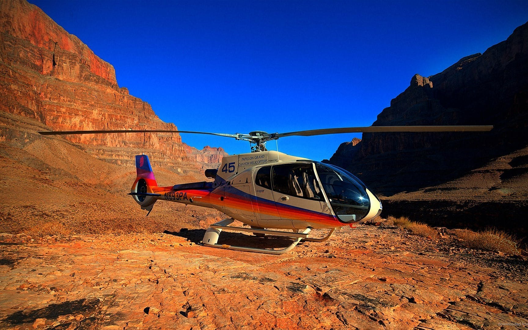 south rim helicopter tour with optional jeep excursion - 45 minutes (self drive)-1