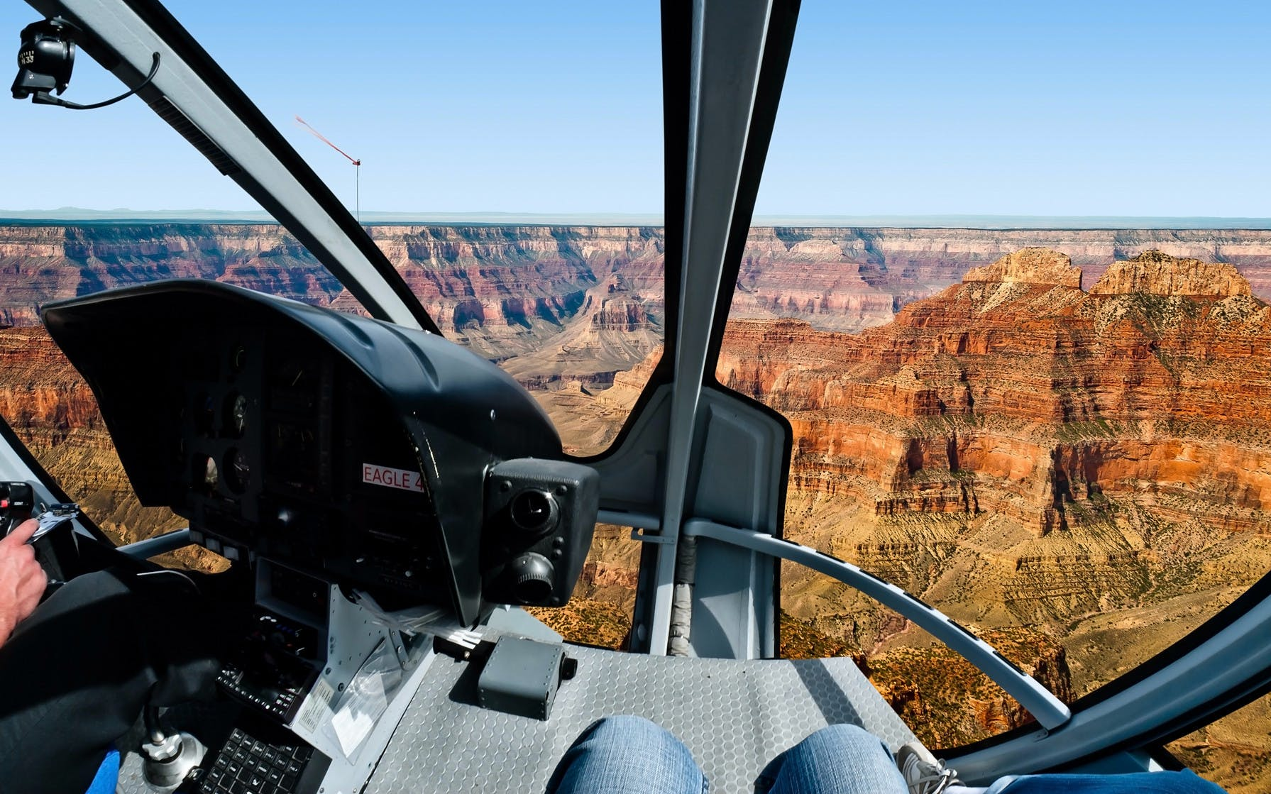 south rim helicopter tour with optional jeep excursion - 45 minutes (self drive)-2