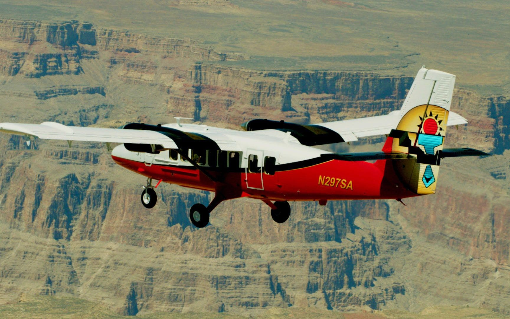 grand canyon west rim airplane tour with optional legacy pass (self-drive)-1