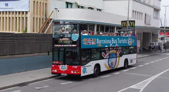 barcelona hop on hop off bus tour - 3