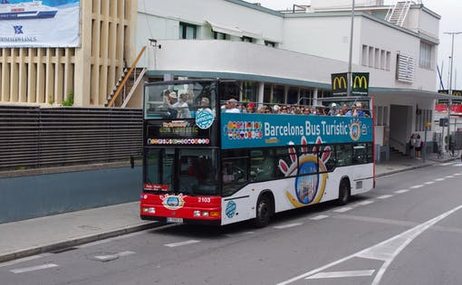 Barcelona Hop-On-Hop Off Bus Tour