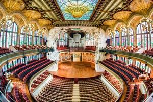 1 day in Barcelona-Palau de la Música Catalana