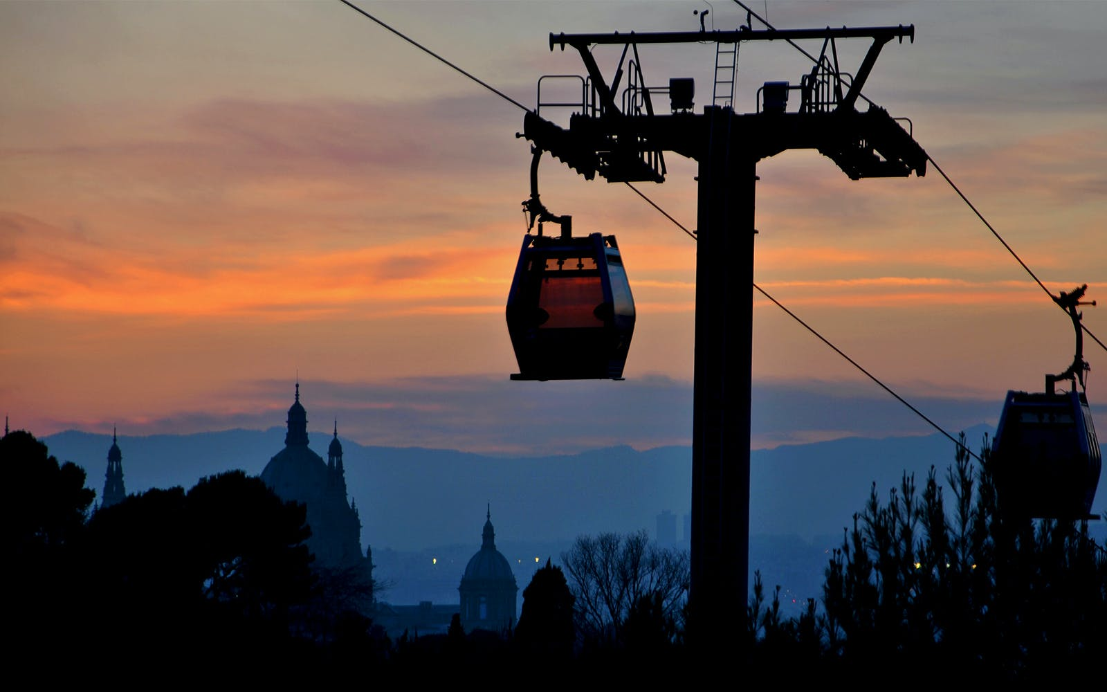 Teleferic De Montjuic/ Montjuic Cable Car